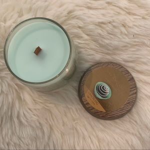 Yankee Candle Woodwick Merry Mint small Jar